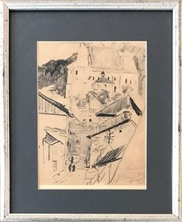 Obraz do salonu artysty Leon Wyczółkowski pod tytułem Kazimierz nad Wisłą