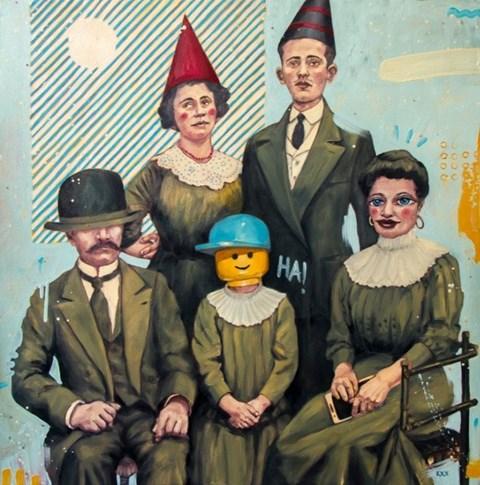 Obraz do salonu artysty Grzegorz Kufel pod tytułem Big Day