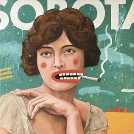 Obraz do salonu artysty Grzegorz Kufel pod tytułem Sobota