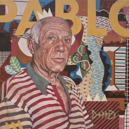 Obraz do salonu artysty Grzegorz Kufel pod tytułem Pablo