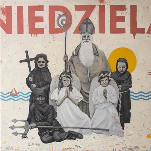 Obraz do salonu artysty Grzegorz Kufel pod tytułem Niedziela