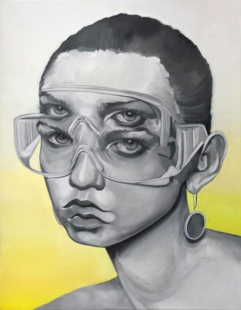 Obraz do salonu artysty Adrian  Kiszka pod tytułem Rozedrganie