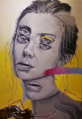 Obraz do salonu artysty Adrian  Kiszka pod tytułem Mojra