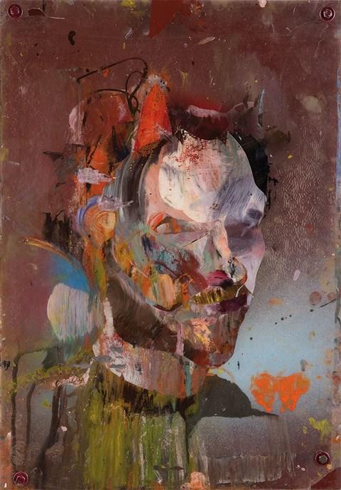 Obraz do salonu artysty Michał Czuba pod tytułem Studium autoportretu 01