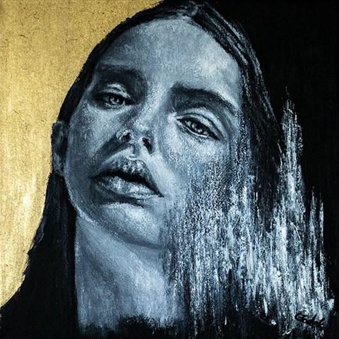 Obraz do salonu artysty Magdalena  Głodek pod tytułem Przenikanie XIX