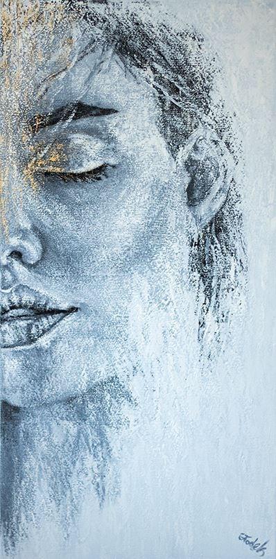 Obraz do salonu artysty Magdalena Głodek pod tytułem Punkt Widzenia VII