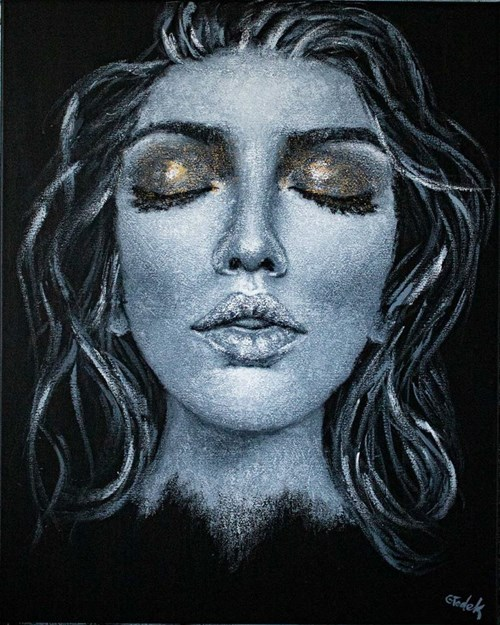 Obraz do salonu artysty Magdalena Głodek pod tytułem Dream On XXII