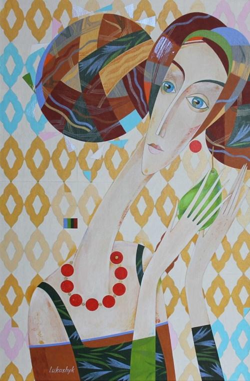 Obraz do salonu artysty Neli Lukashyk pod tytułem Stefania