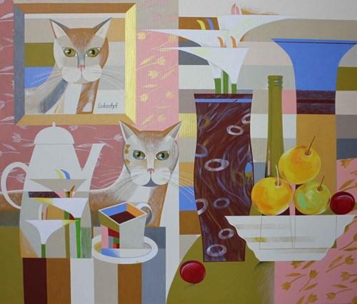 Obraz do salonu artysty Neli Lukashyk pod tytułem Znajdź mnie