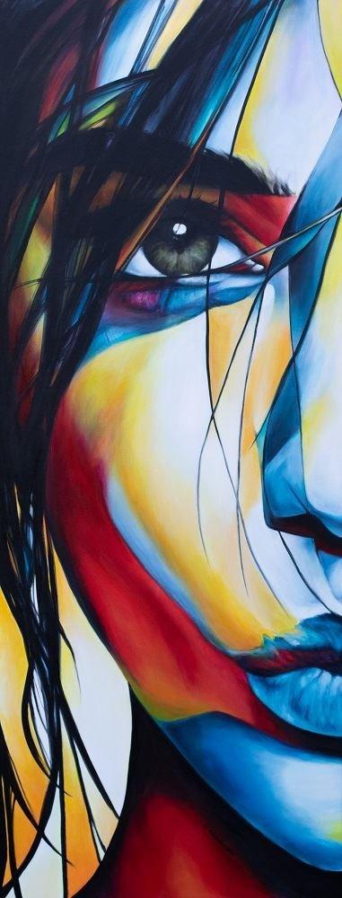 Obraz do salonu artysty Hanna Kłopotowska pod tytułem Doznanie II
