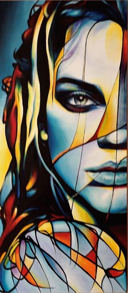 Obraz do salonu artysty Hanna  Kłopotowska pod tytułem W deszczu