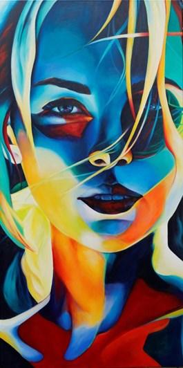 Obraz do salonu artysty Hanna  Kłopotowska pod tytułem Letni wieczór