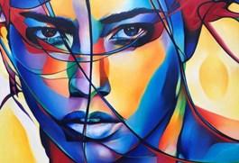 Obraz do salonu artysty Hanna  Kłopotowska pod tytułem Spojrzenie