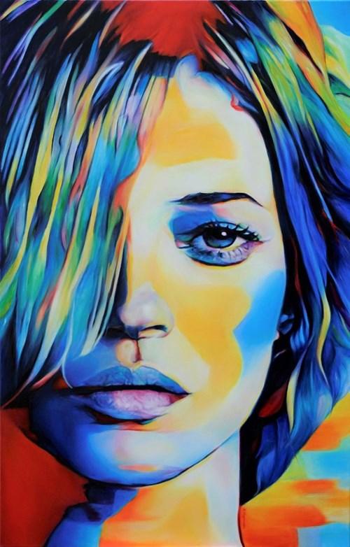 Obraz do salonu artysty Hanna Kłopotowska pod tytułem Zamysł