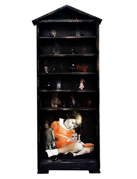 Obraz do salonu artysty Teresa Legierska pod tytułem Zabawa w chowanego