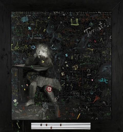 Obraz do salonu artysty Teresa Legierska pod tytułem Nieobecność