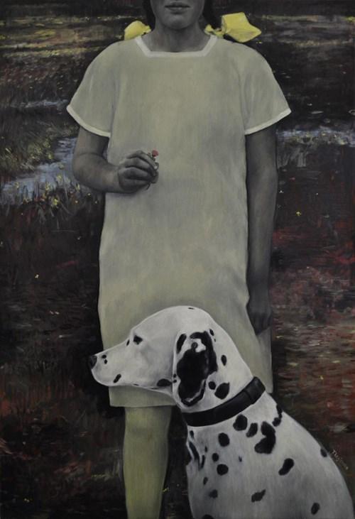Obraz do salonu artysty Teresa Legierska pod tytułem Dzień dobry