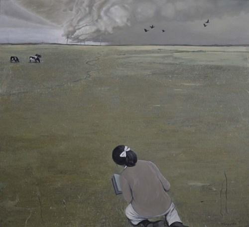 Obraz do salonu artysty Teresa Legierska pod tytułem Nad nami niebo