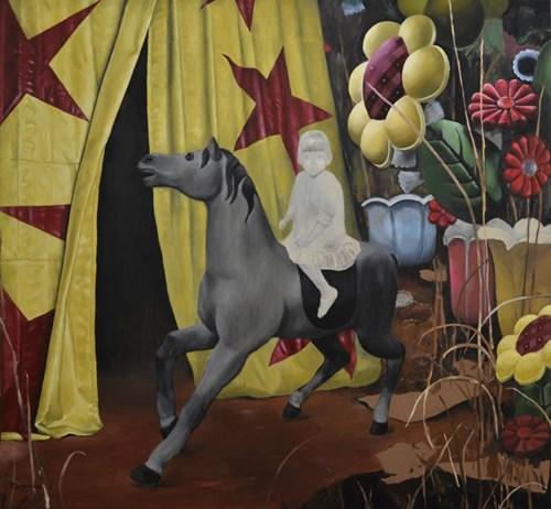 Obraz do salonu artysty Teresa Legierska pod tytułem W nieznane