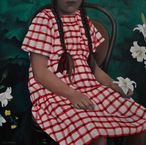 Obraz do salonu artysty Teresa Legierska pod tytułem VII z cyklu Iskierki
