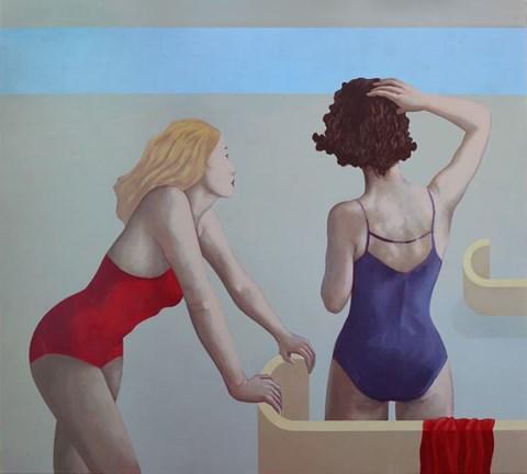 Obraz do salonu artysty Paulina Rychter pod tytułem Plaża