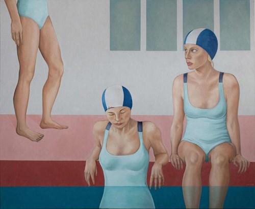 Obraz do salonu artysty Paulina Rychter pod tytułem Pływalnia 1