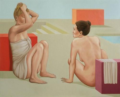 Obraz do salonu artysty Paulina Rychter pod tytułem Rozmawiające