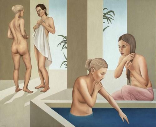 Obraz do salonu artysty Paulina Rychter pod tytułem Łaźnia 3