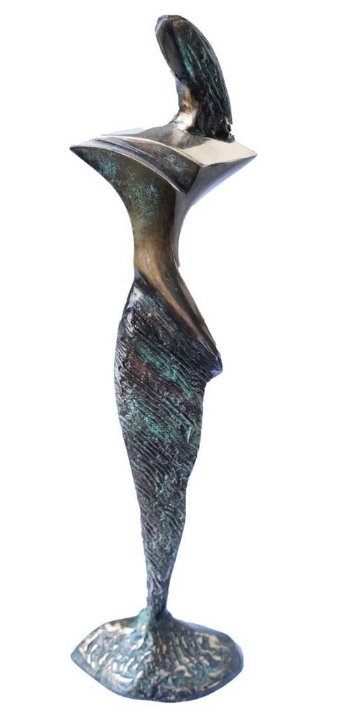 Rzeźba do salonu artysty Stanisław Wysocki pod tytułem Figura