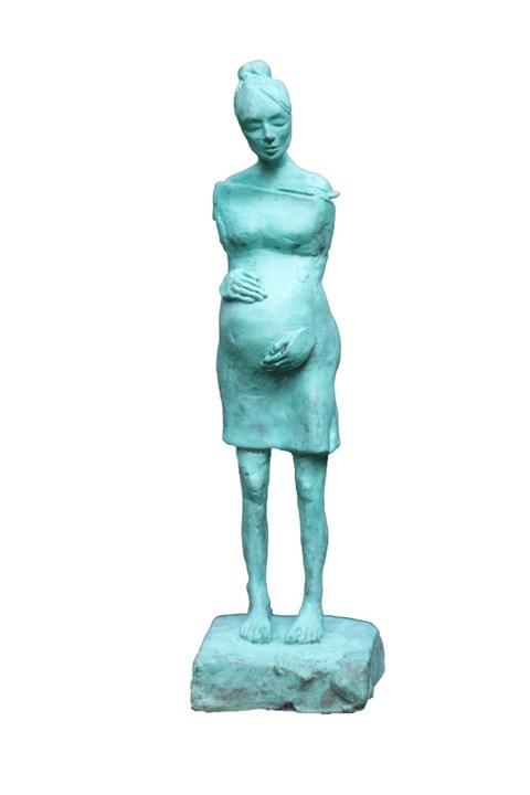 Rzeźba do salonu artysty Magdalena  Karłowicz pod tytułem Matka Polka