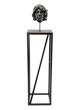 Rzeźba do salonu artysty Tomasz Górnicki pod tytułem Jim Morrison z Cyklu 27