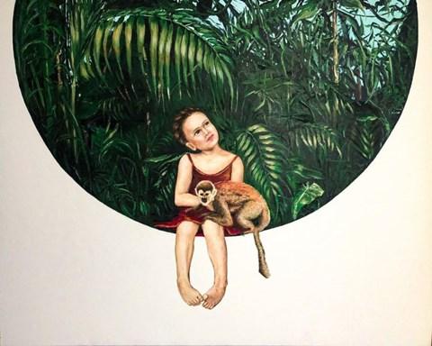 Obraz do salonu artysty Joanna  Czajkowska pod tytułem Moja Frida