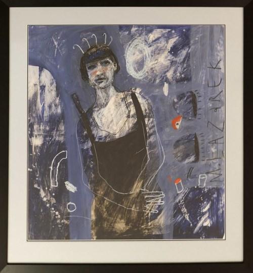 Obraz do salonu artysty Małgorzata Lazarek pod tytułem Kobieta