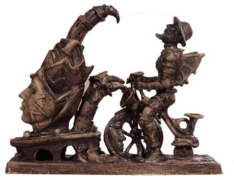 Rzeźba do salonu artysty Mariusz Szewczyk pod tytułem Don Kichote