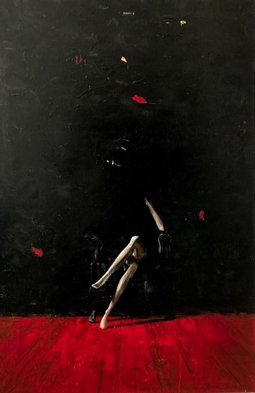 Obraz do salonu artysty Ewa Jasek pod tytułem Red 1