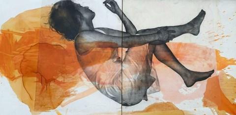 Obraz do salonu artysty Kamila Bednarska pod tytułem A3 (dyptyk)