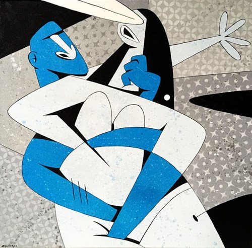 Obraz do salonu artysty Igor Chołda pod tytułem Cello Concert in G