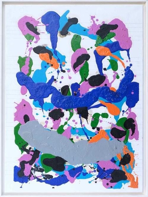 Obraz do salonu artysty Włodzimierz Pawlak pod tytułem Partytura do Baletu Sokrates XXVII