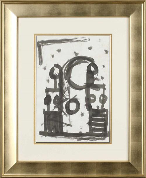 Obraz do salonu artysty Włodzimierz Pawlak pod tytułem Rysunek abstrakcyjny