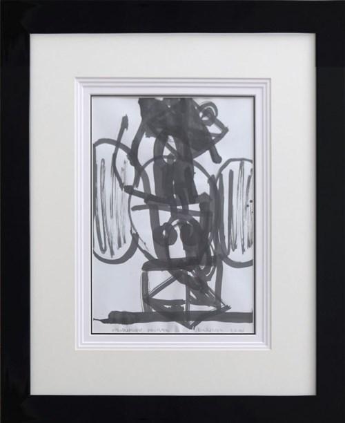Obraz do salonu artysty Włodzimierz Pawlak pod tytułem Kompozycja z kobietą