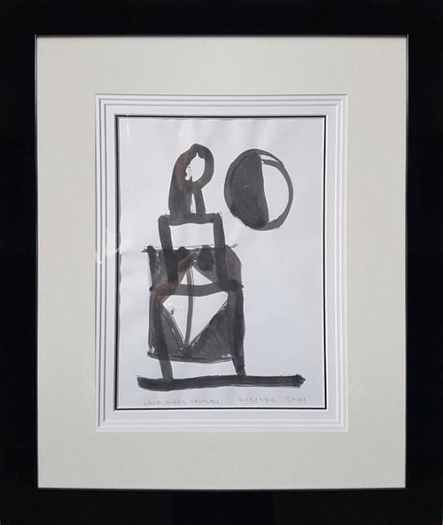 Obraz do salonu artysty Włodzimierz Pawlak pod tytułem Rysunek tuszem