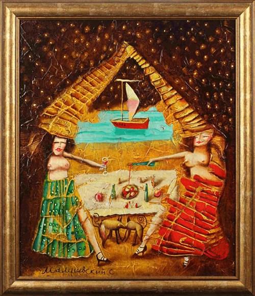 Obraz do salonu artysty Sergiusz Maliszewski pod tytułem Wakacje w Egipcie