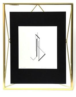 Obraz do salonu artysty Henryk Stażewski pod tytułem Geometria 4/150