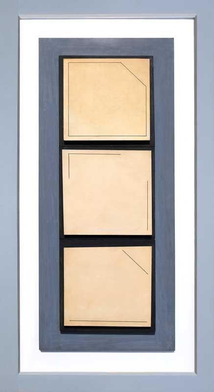 Obraz do salonu artysty Henryk Stażewski pod tytułem Relief nr 9