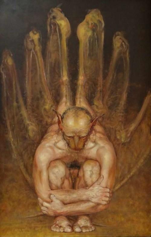 Obraz do salonu artysty Daniel Pielucha pod tytułem Thanatos
