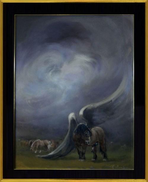 Obraz do salonu artysty Daniel Pielucha pod tytułem Przed burzą