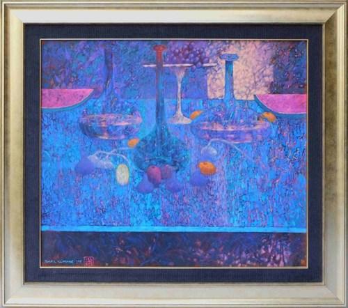 Obraz do salonu artysty Tomasz Klimczyk pod tytułem Niedzielne nalewki