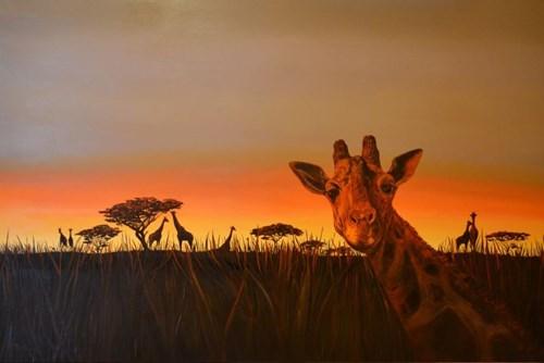 Obraz do salonu artysty Adam Piotr Rutkowski pod tytułem Wildlife - W11