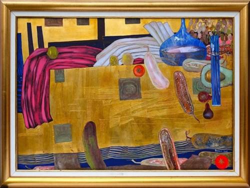Obraz do salonu artysty Andrzej Borowski pod tytułem Martwa Natura z Sansepolcro