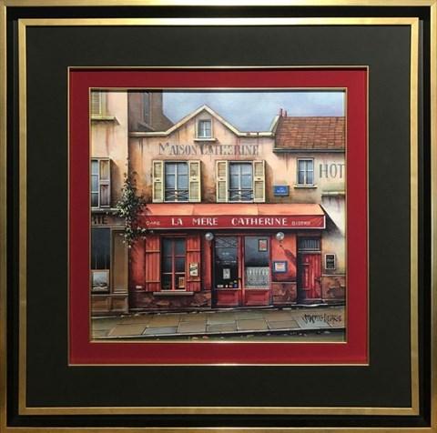 Obraz do salonu artysty Jan  Stokfisz Delarue pod tytułem Cafe la Mere Catherine Bistro